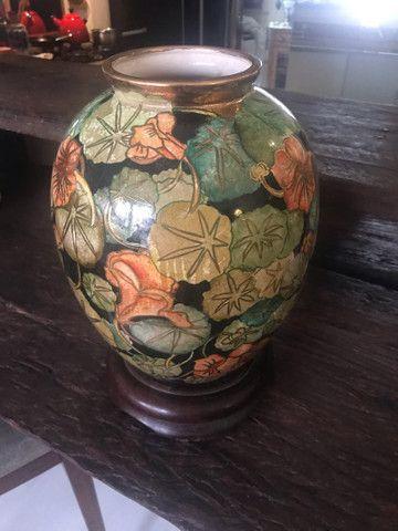 Espectacular vaso pintado a mão !  - Foto 5