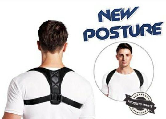 New Posture - Corretor de Postura<br><br>Esportes e Fitness<br><br>