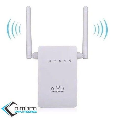 Repetidor Wifi - Sinal Wireless 2 Antenas 1200mbps + Rápido - Loja Coimbra - Foto 2