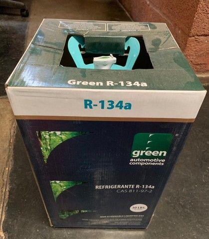 Gás Refrigerante Green R134 Botija 13,6kg (99,99 pureza) - Foto 2