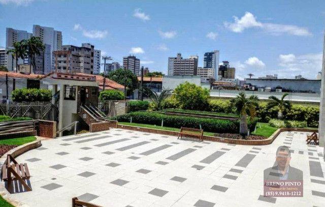Apartamento no Villa Sonata com 3 dormitórios à venda, 124 m² por R$ 850.000 - Aldeota - F - Foto 13