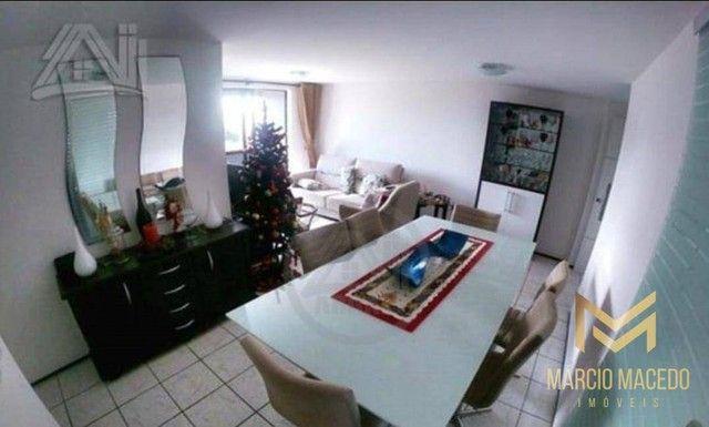 Aptº com 3 dormitórios à venda, 105 m² por R$ 550.000 - Fátima - Fortaleza/CE - Foto 2