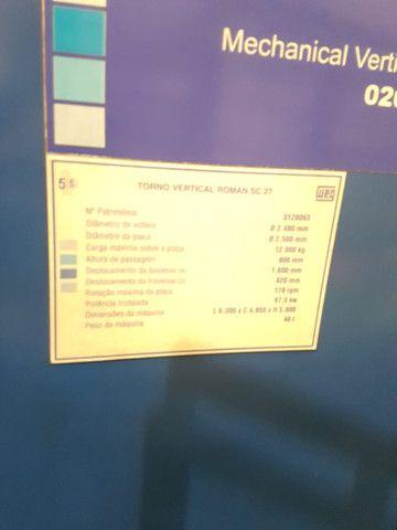 Torno vertical CNC 2500 placa  - Foto 4