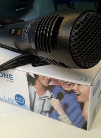 Microfone com Fio knup (entregamos) - Foto 4