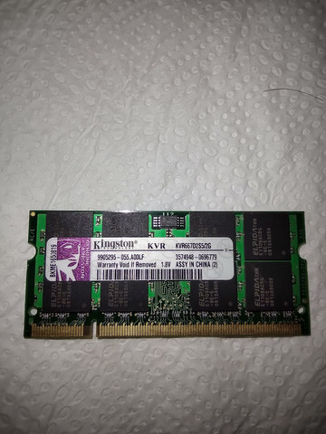 memória RAM kingston