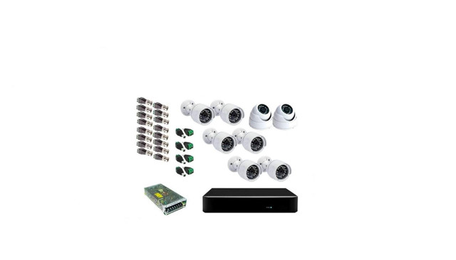 DVR 8 canais +8  câmeras.