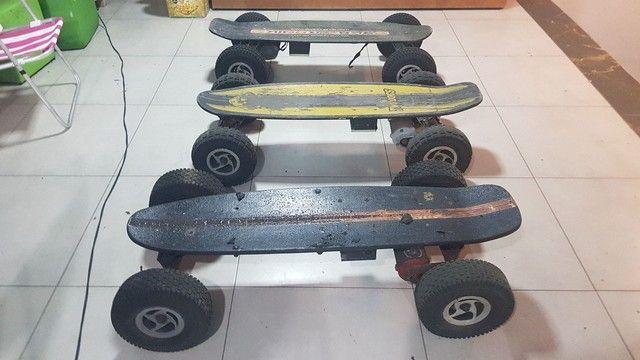 Peças  de  skate  elétrico 800w - Foto 2