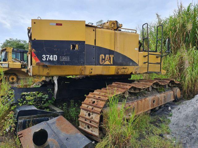 Escavadeira Hidraulica Caterpillar 374D  - Foto 2