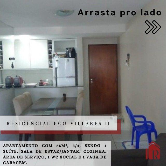 apartamento à venda, 3/4 sendo 1 suíte, com área de lazer  - Foto 2