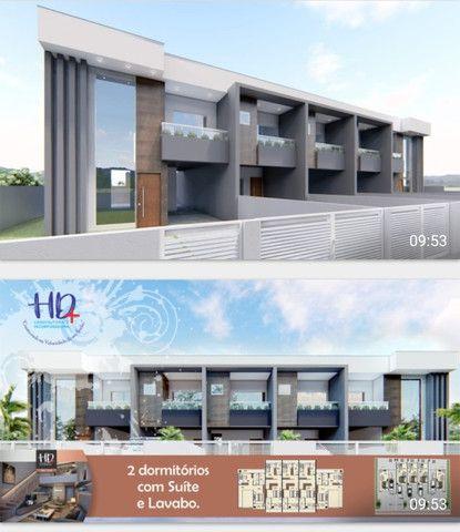 (TH1007) Duplex com 2 suítes e garagem semi coberta no bairro Forquilhas em São José!!!   - Foto 11