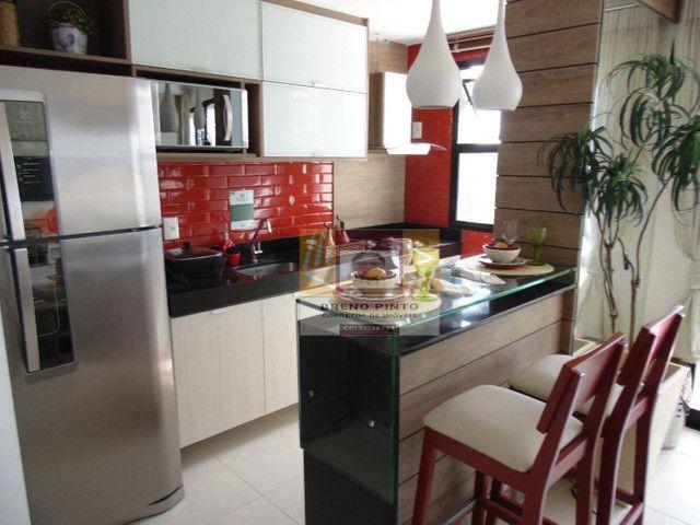 Apartamento com 2 dormitórios à venda, 72 m² por R$ 419.000,00 - Guararapes - Fortaleza/CE - Foto 7