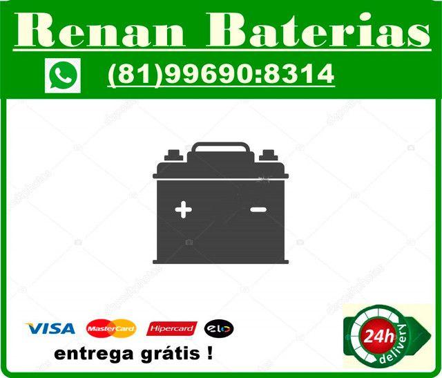 Bateria moto 5 amperes fan titan xre Bros xtz crosser  - Foto 2