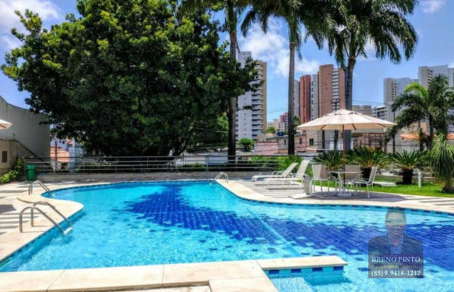 Apartamento no Villa Sonata com 3 dormitórios à venda, 124 m² por R$ 850.000 - Aldeota - F