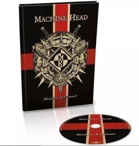 Machine Head - Bloostone And Diamonds (digibook Importado)