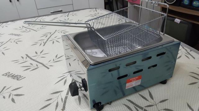 Fritadeira a Gás Venancio 5L Nova Entregamos e Passamos Cartão HEMoveis