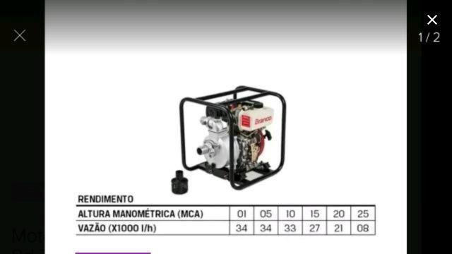 Motobomba DISEL BD 710cf autoescovante - Foto 5