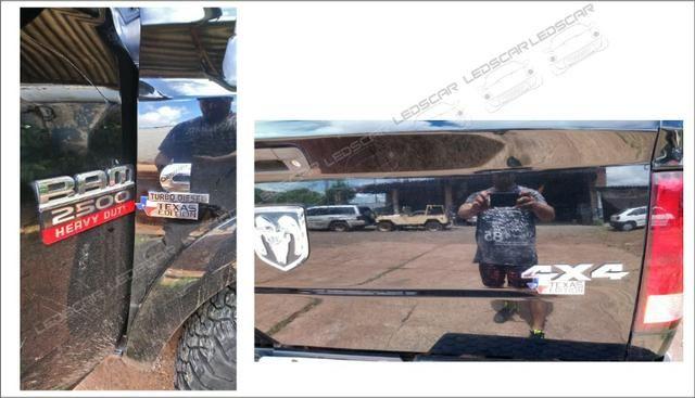 Emblemas Texas Edition F250/F1000/Silevrado/S10/Ranger/Dodge - Foto 3