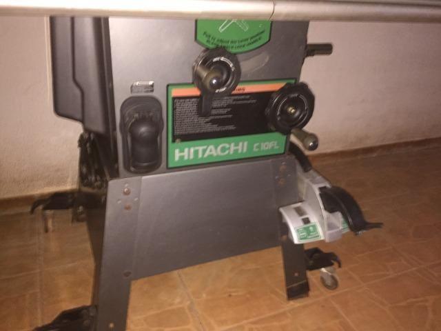 Serra circular (cabinet saw), Hitachi C10FL - Foto 5