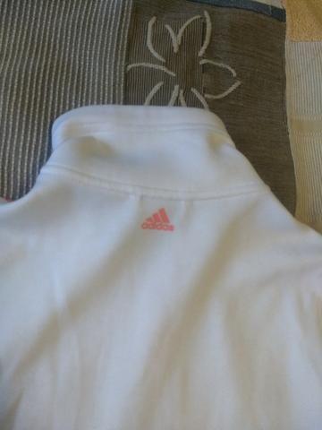 Jaqueta Adidas Feminina branca - Foto 4