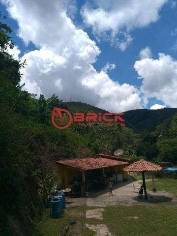 Sítio com terreno de 16.000 m² e cachoeira própria em pessegueiros, teresópolis/rj. - Foto 9