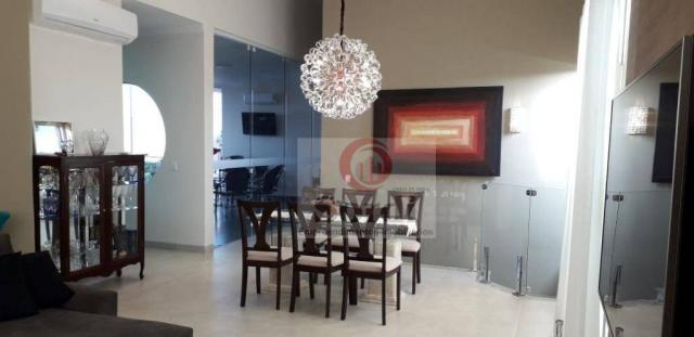 Casa com 4 dormitórios à venda, 304 m² por r$ 1.590.000 - condomínio buona vita ribeirão -