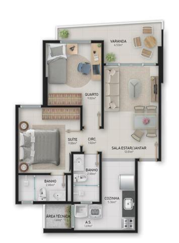 Troco ou vendo apartamento de 2 quartos - Foto 3