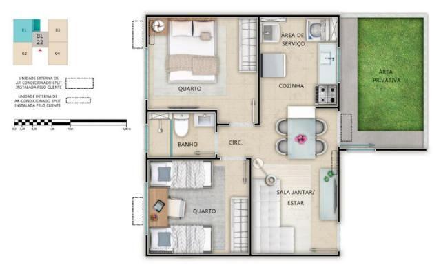 Apartamento à venda, Cond Alameda Real Aracaju SE                                          - Foto 8