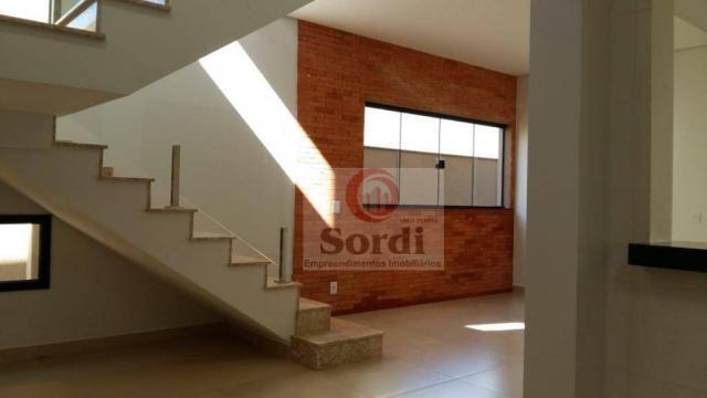 Sobrado com 3 suítes à venda, 205 m² por r$ 890.000 - condomínio buona vita - ribeirão pre - Foto 2