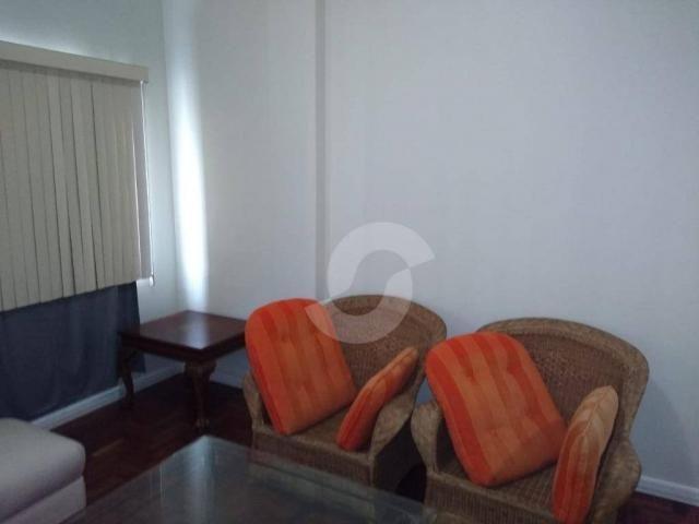 Apartamento com 2 dormitórios para alugar, 121 m² por r$ 1.800,00/ano - icaraí - niterói/r - Foto 12