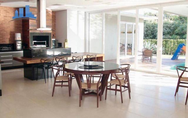 Casa com 4 suítes, mobiliada, country club - cuiabá/mt - Foto 7