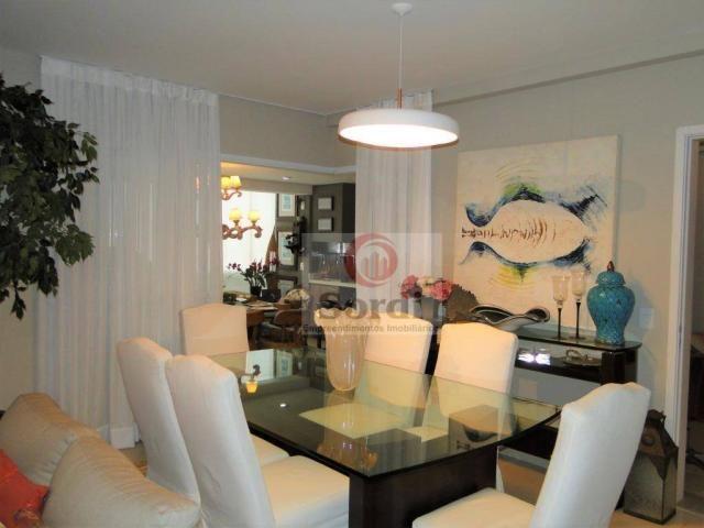 Apartamento com 4 dormitórios à venda, 227 m² por r$ 1.599.000 - jardim botânico - ribeirã - Foto 3