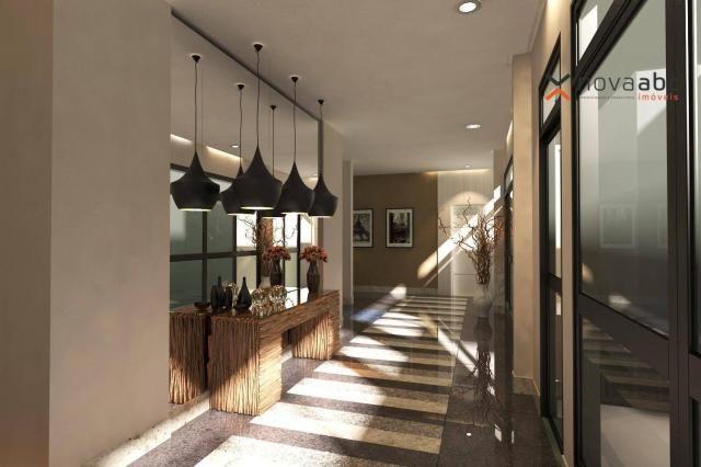 Apartamento com 2 dormitórios e varanda gourmet para alugar, 70 m² em condomínio completo  - Foto 16