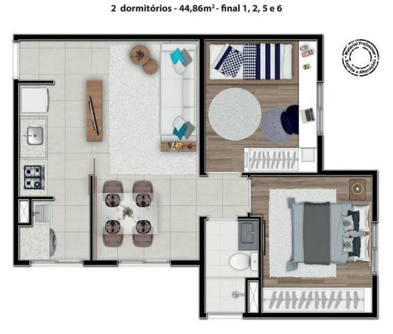 Entrada 0 saia do aluguel agora ! Apartamento mcmv Nova fase lançada 08/11 - Foto 11