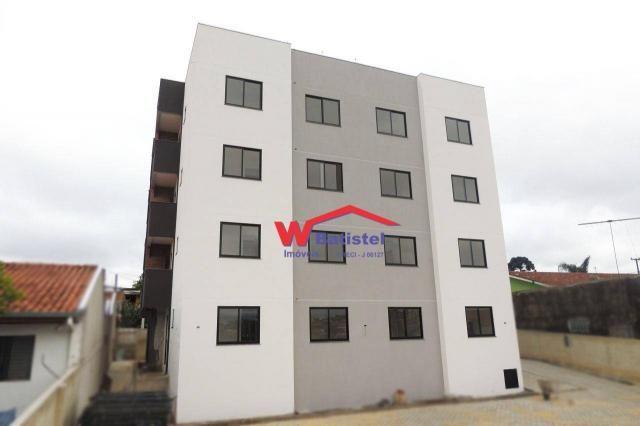 Apartamento com 2 dormitórios à venda, 51 m² - avenida lisboa, 325 - rio verde - colombo/p