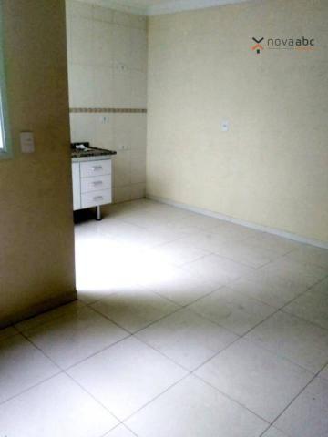 Apartamento com 2 dormitórios para alugar, 56 m² por R$ 1.100,00/mês - Parque Oratório - S - Foto 7