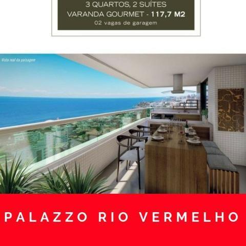 Pallazzo Rio Vermelho, 1/4 e 3/4 - entrega 12/2021 - Foto 5