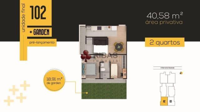 Apartamento à venda com 2 dormitórios em Tingui, Curitiba cod:15416 - Foto 15