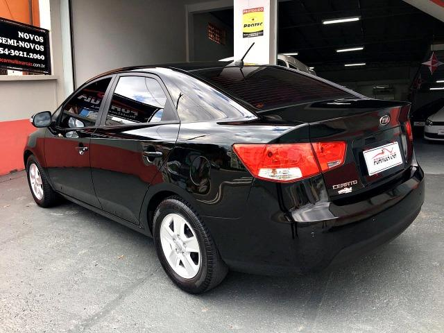 KIA Cerato 1.6 EX2 Sedan 2011 Preto - Foto 3