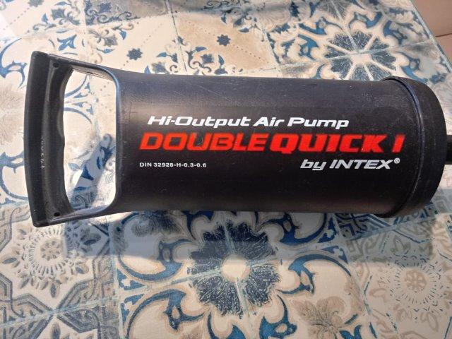 Não perca - Bomba de Inflar Intex Modelo Quick I - Foto 3