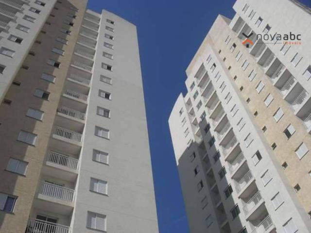 Apartamento com 2 dormitórios para alugar, 50 m² por R$ 1.350/mês - Parque Erasmo Assunção - Foto 2