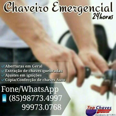 Top Chaves Chaveiro 24h what'sapp 9 8773.4997 - Foto 3
