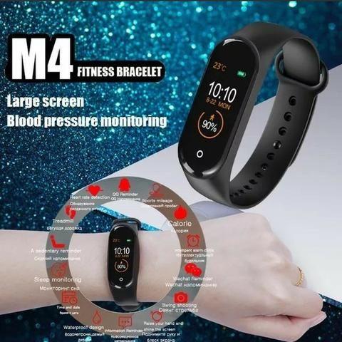 Pulseira Inteligente Smartband M4 Monitor Cardíaco Relógio - Foto 5