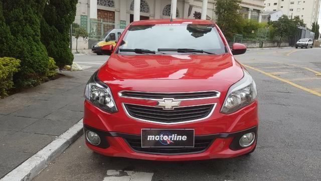 Chevrolet - Agile LTZ 1.4 Flex 2014 Vermelho Completo Super Novo Doc OK - Foto 5