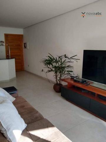 Cobertura com 3 dormitórios à venda, 85 m² por R$ 610.000 - Santa Maria - Santo André/SP