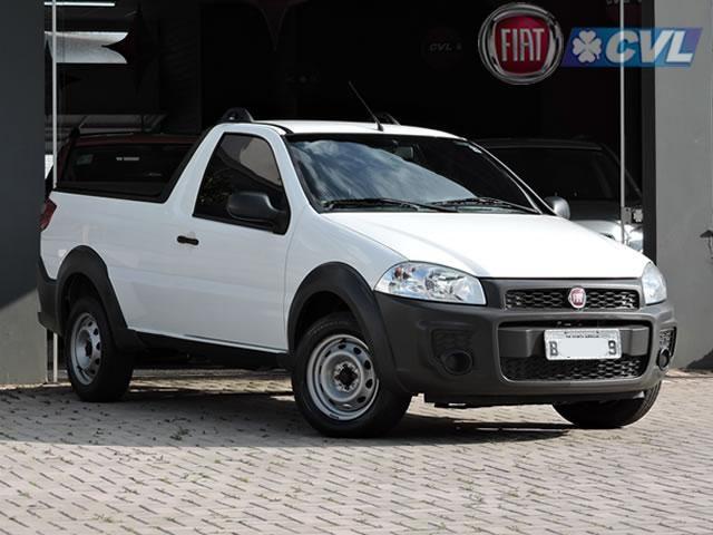 Fiat Strada Hard Working 1.4 (Flex) 2019