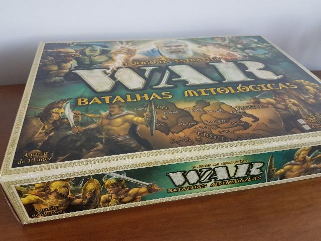War Batalhas Mitológicas jogo de tabuleiro