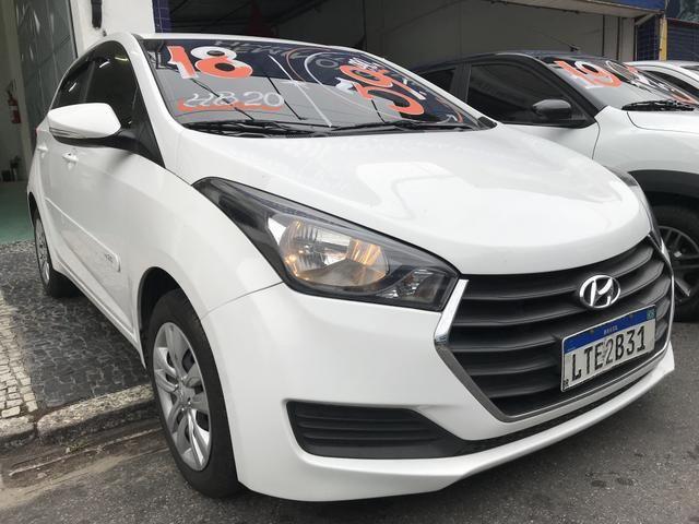 Hyundai Hb20 1.0 C Plus 2018 - Único Dono