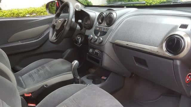 Chevrolet - Agile LTZ 1.4 Flex 2014 Vermelho Completo Super Novo Doc OK - Foto 11
