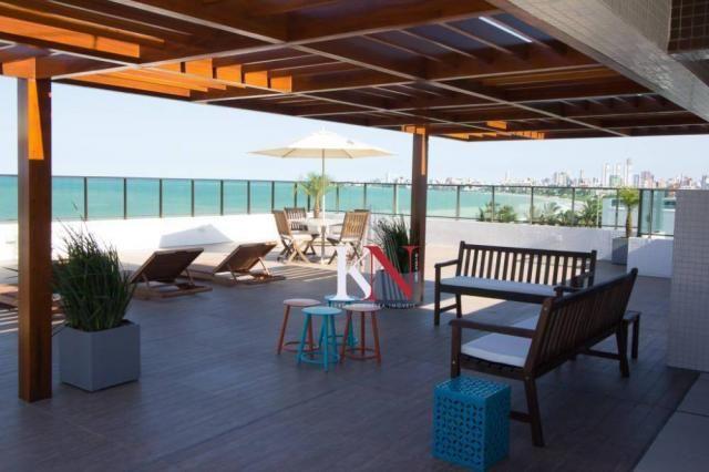 Apartamento com 3 qts, 2 stes à venda, 113 m² por r$ 753.301 - intermares - cabedelo/pb