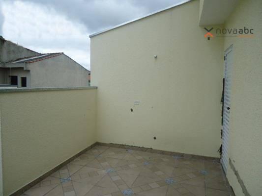 Cobertura com 2 dormitórios para alugar, 48 m² por R$ 1.400/mês - Parque Novo Oratório - S - Foto 16